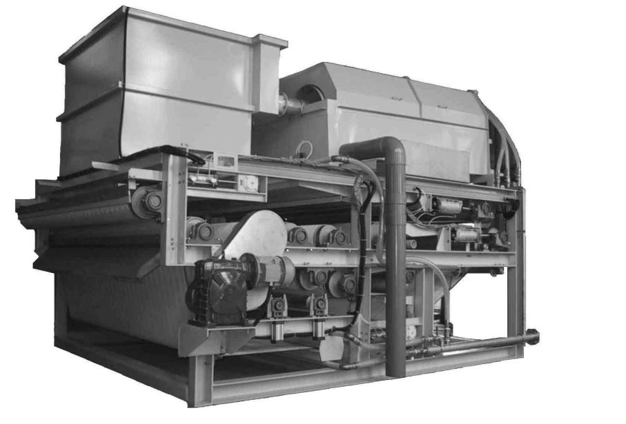 污水处理中的污泥脱水机是如何工作的?